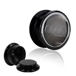 Augenbraue, Retainer klar, schwarz 1,2mm
